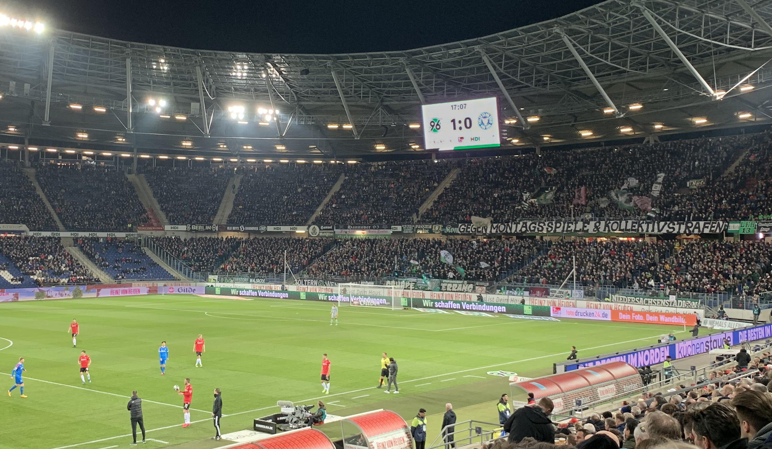 KLH – Wir schaffen Verbindungen. Auch in der HDI Arena bei Hannover 96.
