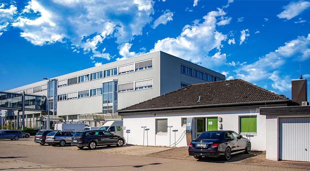 Die KLH GmbH an ihrem Standort Lehrte-Ahlten